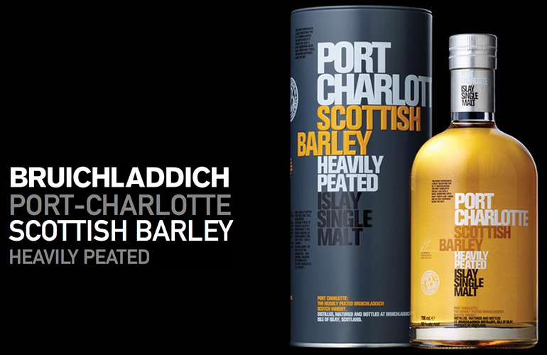 Bruichladdich Port Charllote Scottish Barley