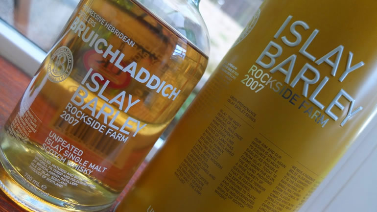 Bruichladdich Islay Barley 2007 Rockside Farm