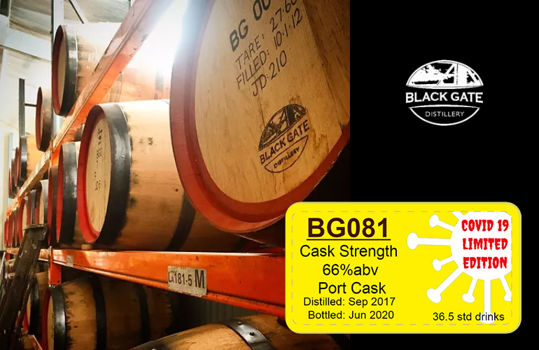 Black Gate BG081 - Cask Strength